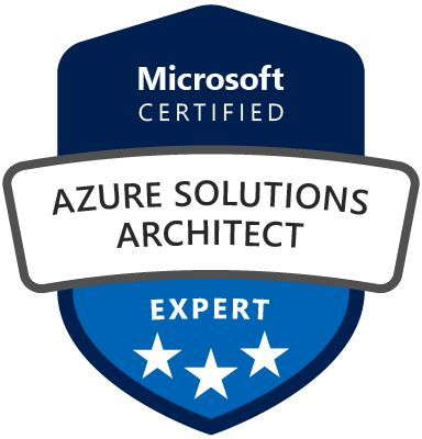 Azure Solutions Architect Expert Certification
