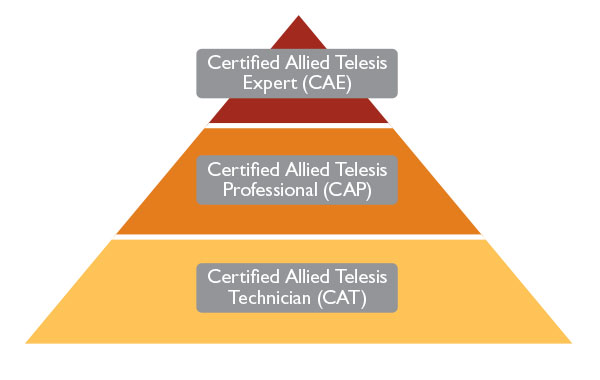 Allied Telesis Training Pyramid